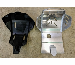 CRF450L Skid Plate by Flatland Racing
