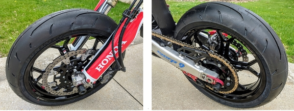 CRF450L / CRF450RL Supermoto Tires