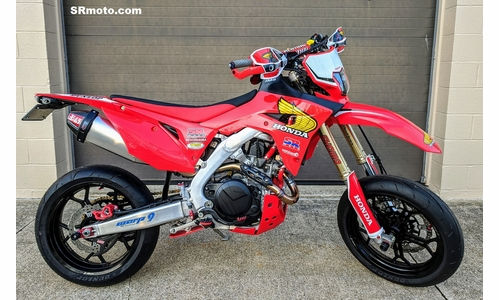 CRF450L Warp 9 Supermoto Forged Tubeless Wheels