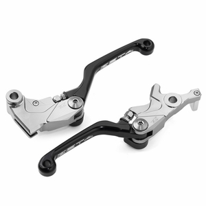CRF450L Zeta Pivot Lever Set - Black Red