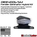 DRZ400S DRZ400SM 12oClockLabs Integrated Tail Light / Fender Eliminator Kit