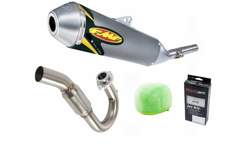 DRZ400S DRZ400SM FMF PowerCore4 Performance Exhaust Package