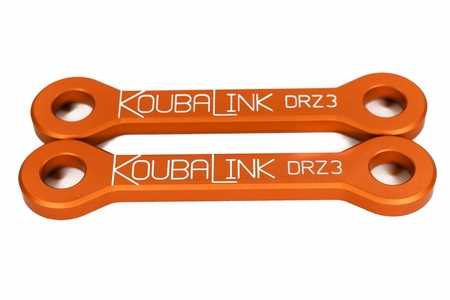 DRZ400S DRZ400SM Lowering Link Kit by KoubaLink
