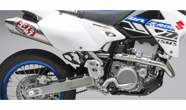 DRZ400S DRZ400SM Yoshimura RS-2 Stainless / Aluminum Exhaust Package