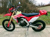 Honda CRF450L Project Bike