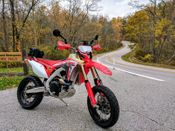 Honda CRF450L Adventure Supermoto Project Bike