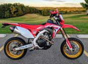 Honda CRF450L Supermoto Conversion #2