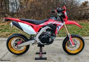 Honda CRF450L Supermoto Conversion