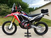 Honda CRF250L Rally Project Bike