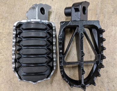 Tenere 700 Footpegs - DRC Ultra Wide
