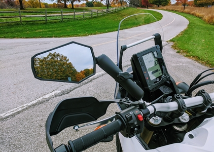 Tenere 700 Mirrors - DoubleTake Adventure Package