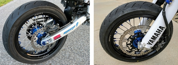 WR250R and WR250X Supermoto Tires
