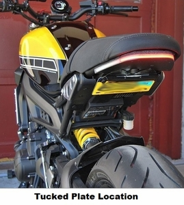 XSR900 Fender Eliminator by New Rage Cycles NRC