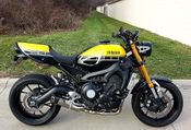 Yamaha XSR900 Project Bike
