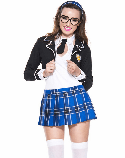 Academy Pupil Sexy School Girl Costume