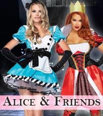 Alice & Friends Costumes