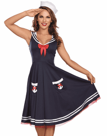 All Aboard Sexy Sailor Costume