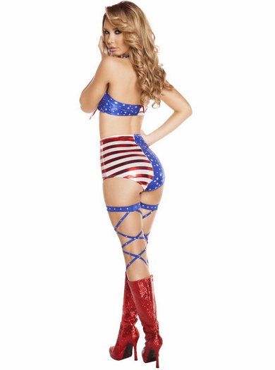 All American Tie Top