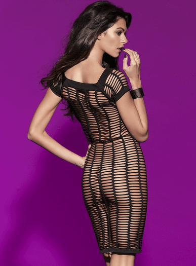 All Caged Up Cap Sleeve Chemise