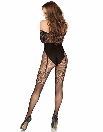 All My Affection Fishnet Bodystocking
