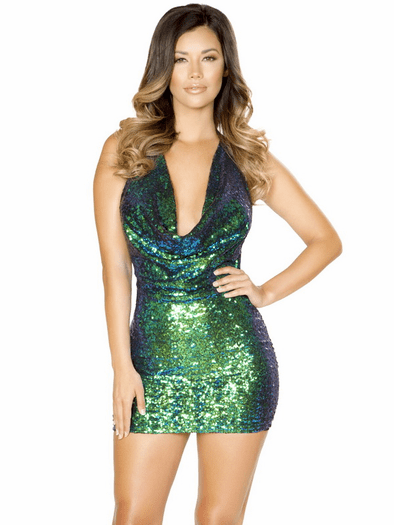 All Of Me Sequin Mini Dress