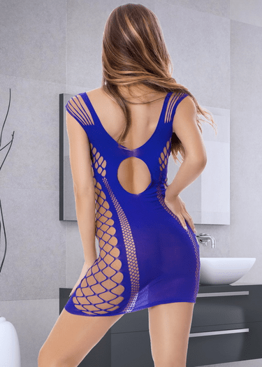 All Or Nothing Fishnet Chemise
