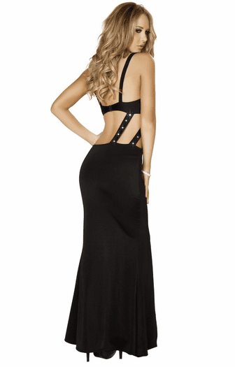 Alluring Sex Appeal Sexy Long Gown