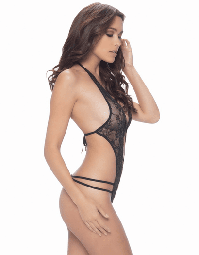 Tempt & Tease Crotchless Teddy