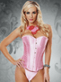 Angelic Beauty Pink Corset