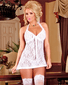 Angelic Lace Lover Babydoll & Thong Set