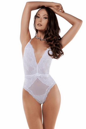 Angelic Lace Teddy