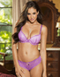 Annette's Desire Sexy Lace Push-Up Bra & Panty Set