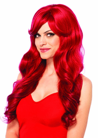 Ariel Sexy Red Wig
