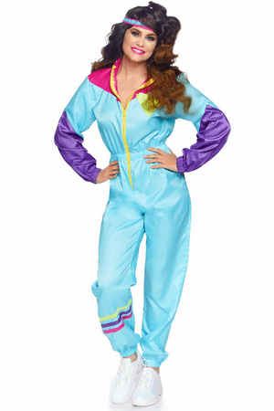 Awesome 80's Track Suit Costume