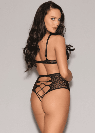 Baby It's You Bra & High Waist Panty Set