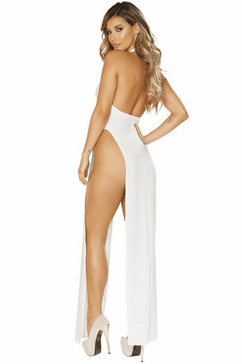 Basic White Maxi Dress