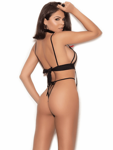 Be My Baby Lace Strappy Teddy