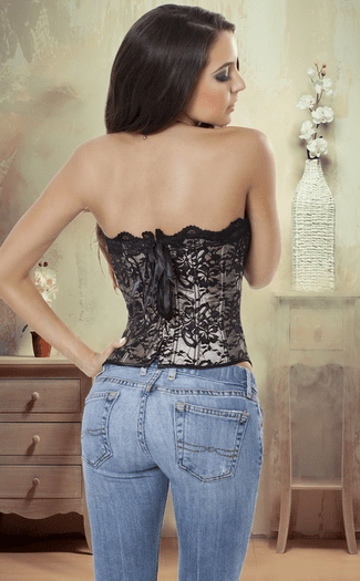 Behind The Doors Lace Corset