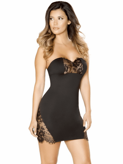 Best Thing You Ever Had Black Mini Dress