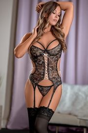 Bewitching Merry Widow & G-String