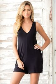 Black Multiwear Romper