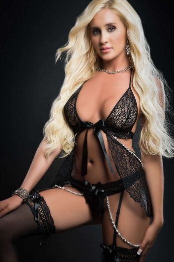 Black Pearls & Lace Fly Away Babydoll