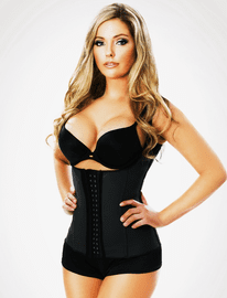 Black Sculpting Vest Waist Trainer