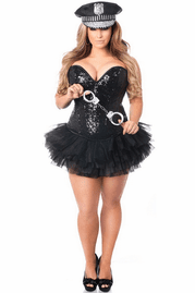 Top Drawer Sexy Cop Corset Costume