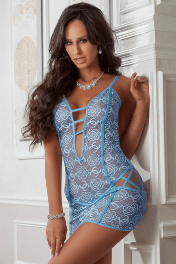 Blue Jay Cheeky Lace Chemise