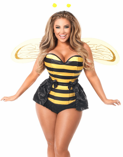Bumble Bee Baby Corset Costume