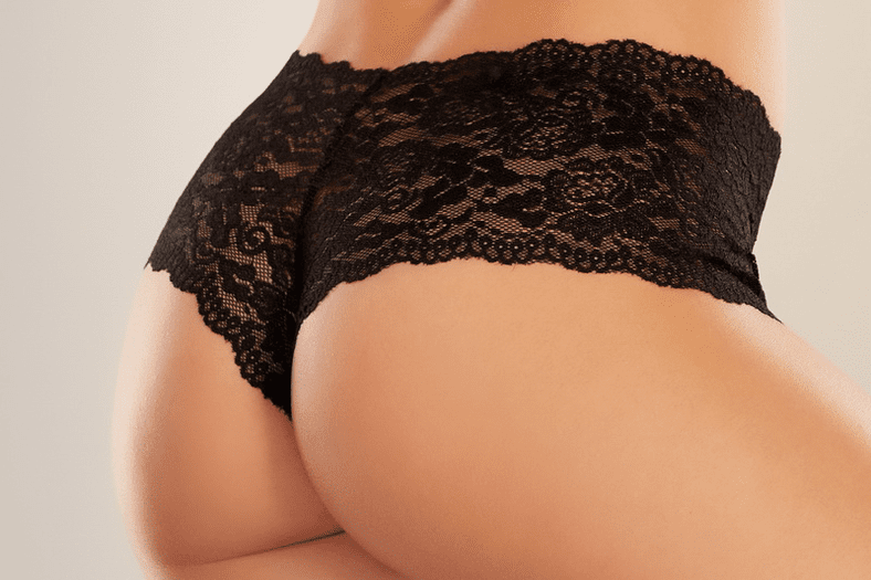 Candy Apple Crotchless Booty Short