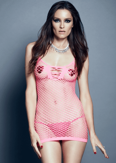 Catch Me If You Can Fishnet Chemise
