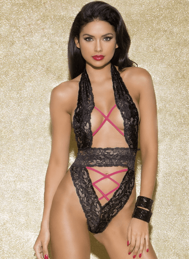Center Stage Sexy Lace Teddy