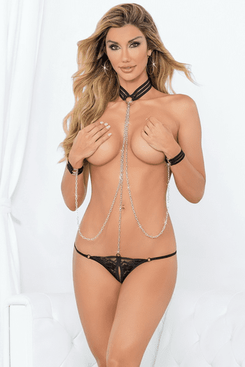 Chained Playsuit Set